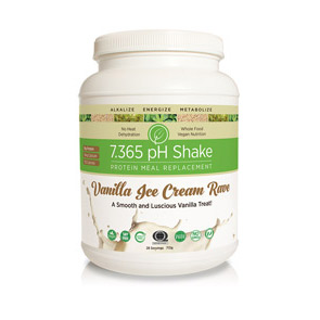 Web Offer: 7.365 pH Shake Vanilla Ice Cream Rave
