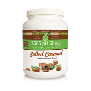 7.365 pH Shake Salted Caramel (1 Canister, 28 Meals)