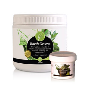 Web Offer: Earth Greens Powder