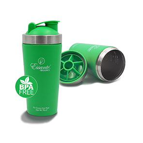 Stainless Steel Water Bottle & Protein Shaker